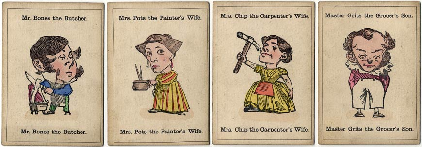 from the Victorian card game